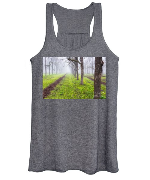 Fog And Orchard Women's Tank Top