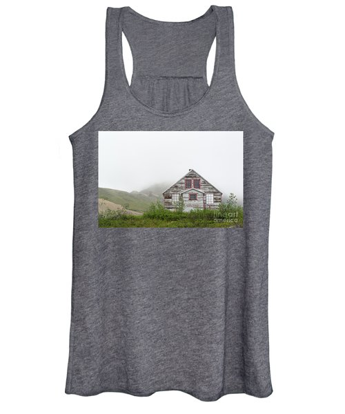 Foggy And Abandoned Women's Tank Top
