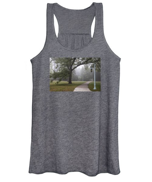 Foggy Campus  Women's Tank Top