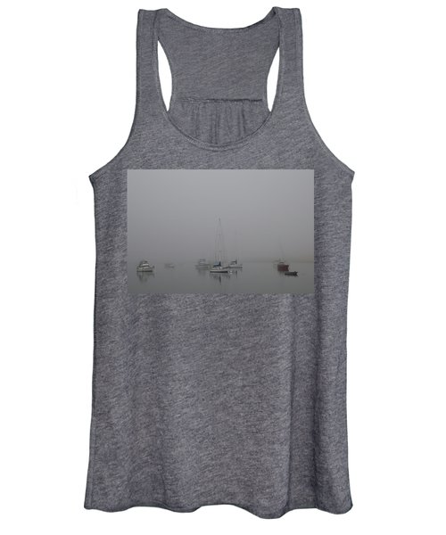 Waiting Out The Fog Women's Tank Top