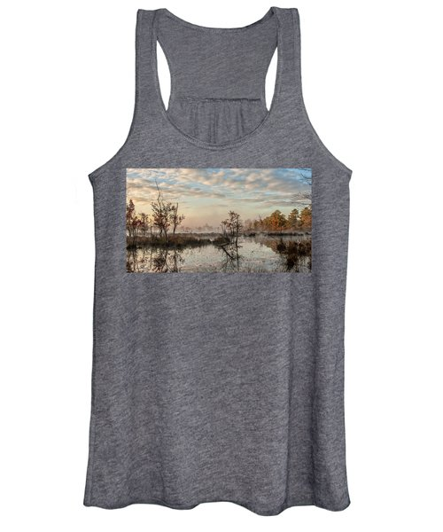 Foggy Morning In The Pines Women's Tank Top