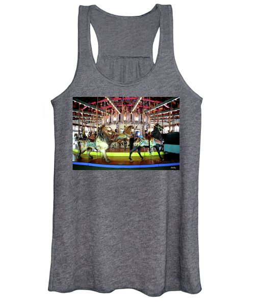 Forest Park Carousel Women's Tank Top