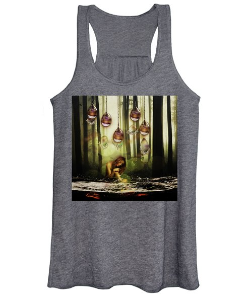 Forest Rain Fantasy Women's Tank Top