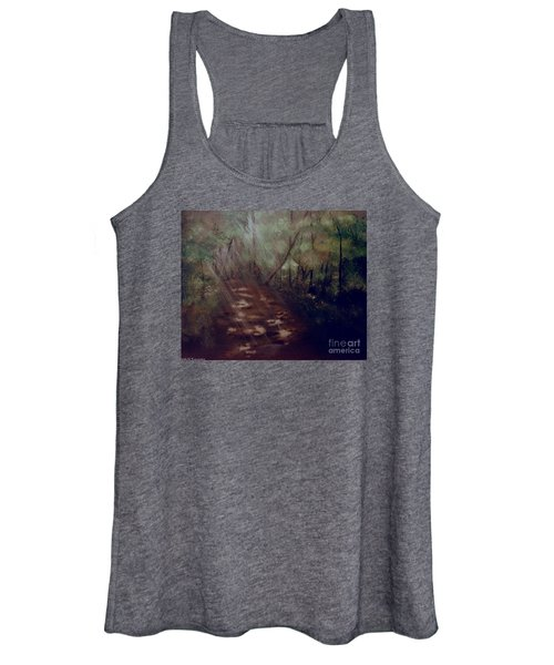 Forest Rays Women's Tank Top
