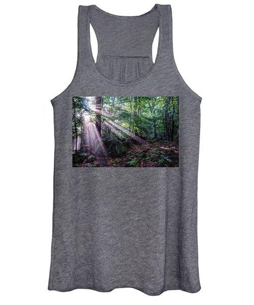 Forest Sunbeams Women's Tank Top