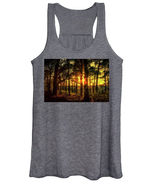Forest Sunset Women's Tank Top