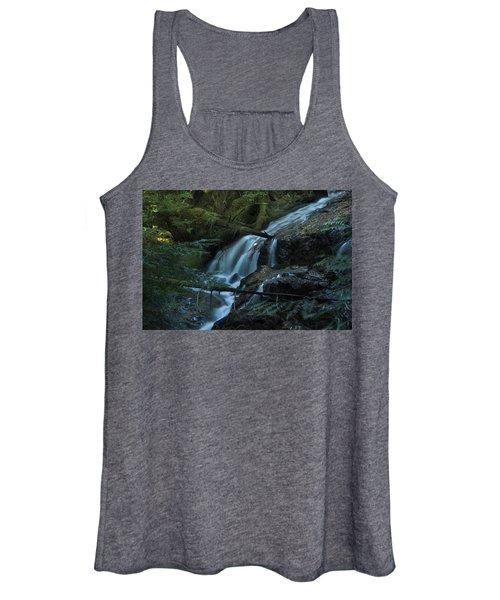 Forest Waterfall. Women's Tank Top