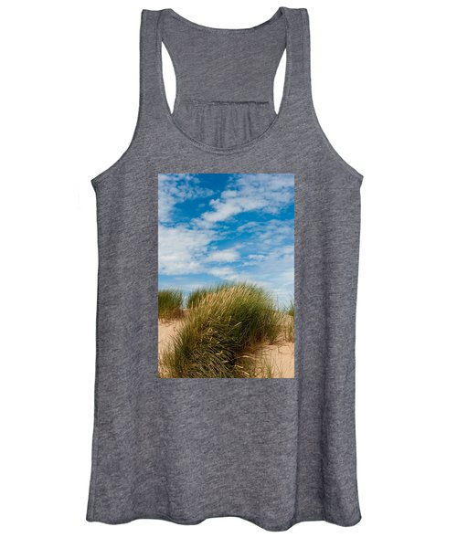 Formby Sand Dunes And Sky Women's Tank Top