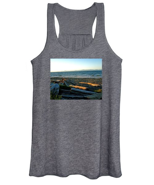 Fort Driftwood - Vancouver Island - Bc Women's Tank Top