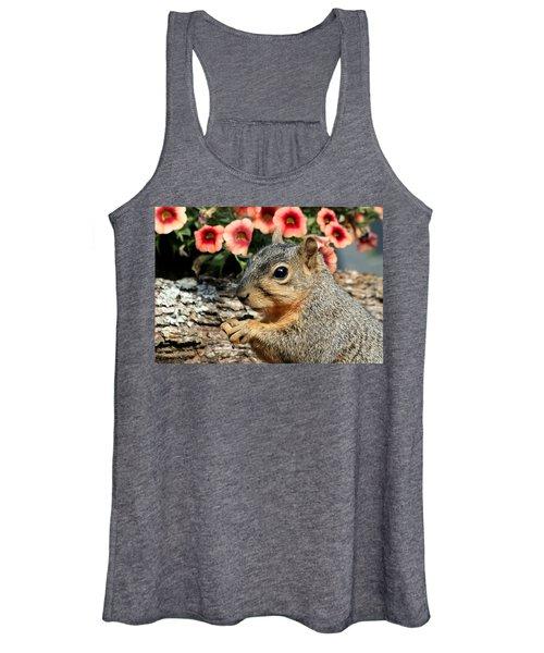 Fox Squirrel Portrait Women's Tank Top