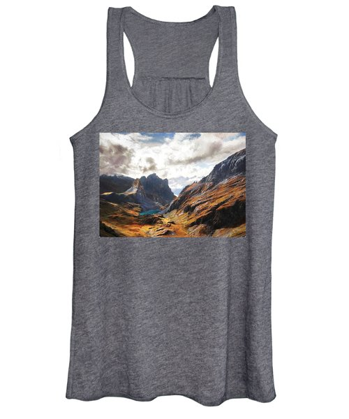 French Alps Women's Tank Top