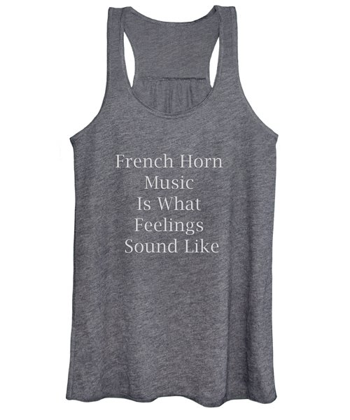 French Horn Is What Feelings Sound Like 5577.02 Women's Tank Top