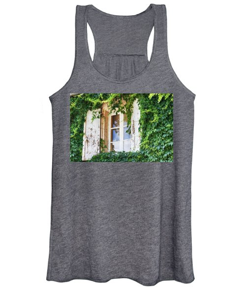French Window In Provence Women's Tank Top