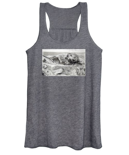 From My Window A Clump Of Trees Women's Tank Top