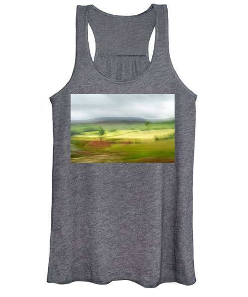 heading north of Yorkshire to Lake District - UK 1 Women's Tank Top