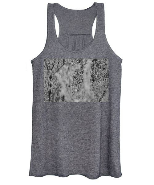 Women's Tank Top featuring the photograph Frost 2 by Antonio Romero
