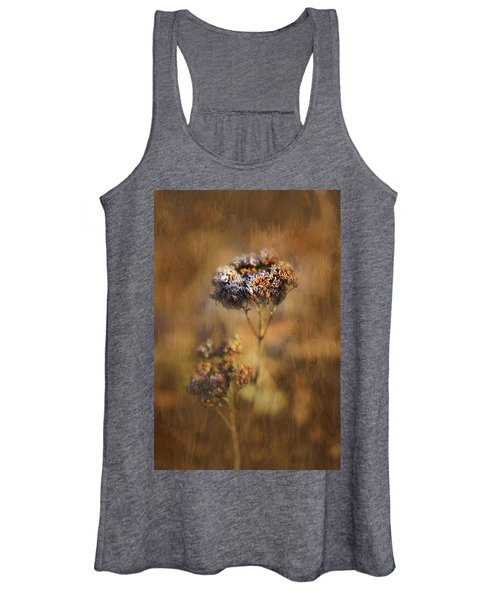 Frosted Bloom Women's Tank Top