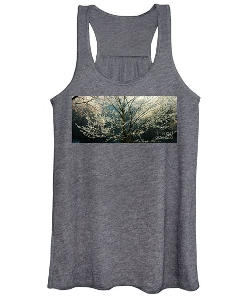 Frosted Trees Women's Tank Top