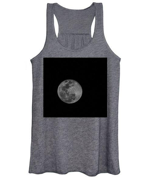 Full Moon Rising Women's Tank Top