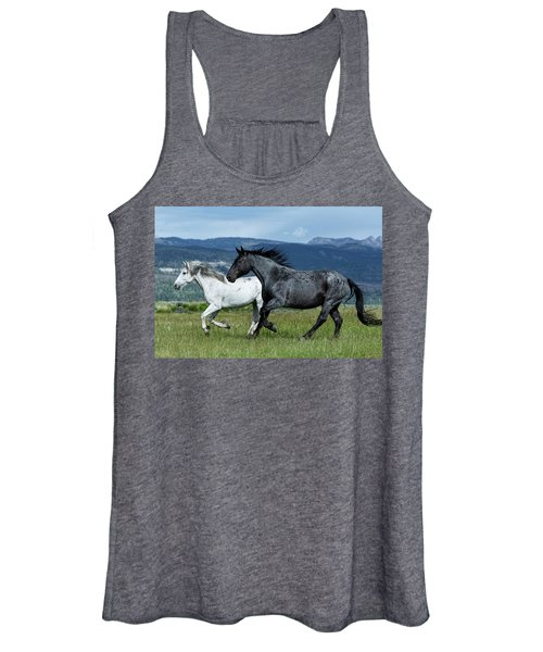 Galloping Through The Scenery Women's Tank Top