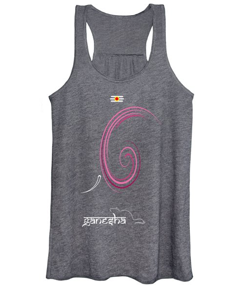Ganesha Design Women's Tank Top