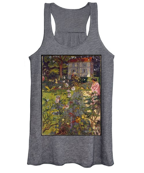 Garden At Vaucresson Women's Tank Top