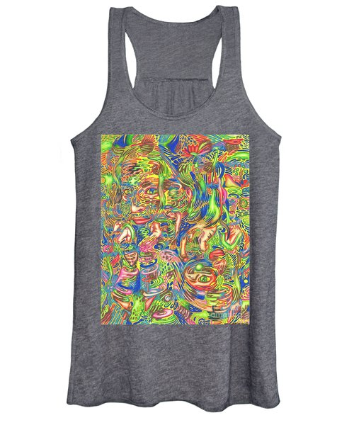 Garden Of Reflections Women's Tank Top