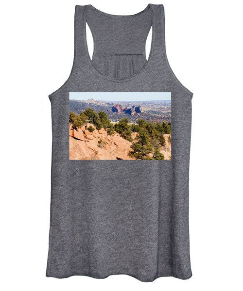 Garden Of The Gods And Springs West Side Women's Tank Top