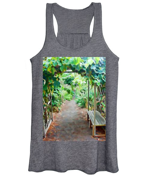 Garden Path Women's Tank Top