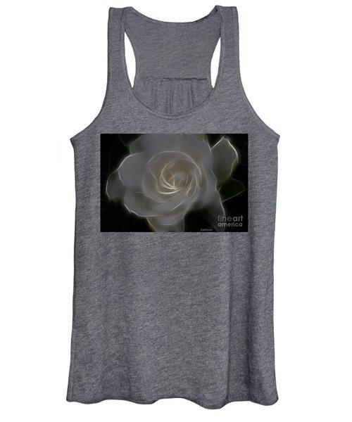 Gardenia Blossom Women's Tank Top