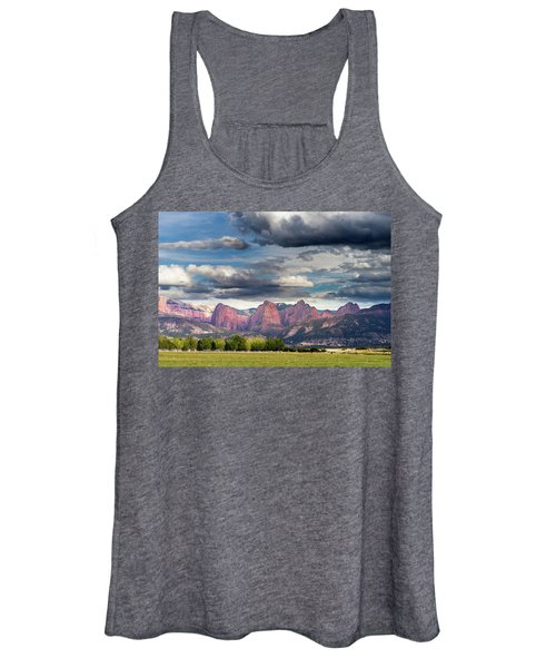 Gathering Storm Over The Fingers Of Kolob Women's Tank Top
