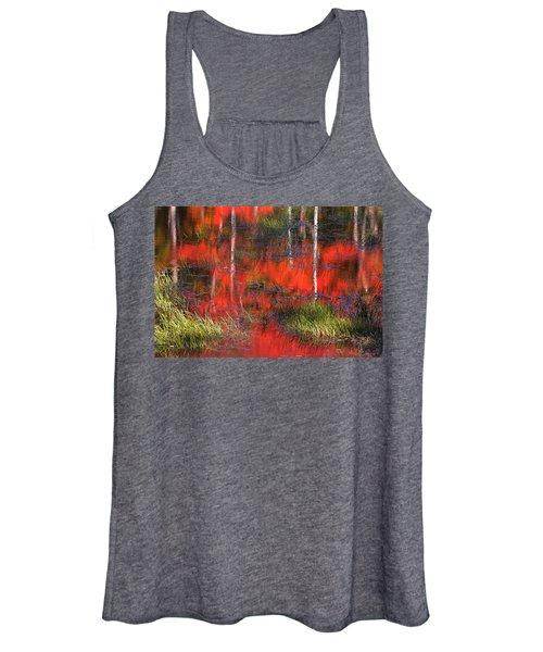 Gatineau Marsh Fall Colors Women's Tank Top