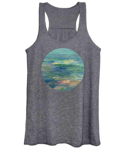 Gentle Light On The Water Women's Tank Top