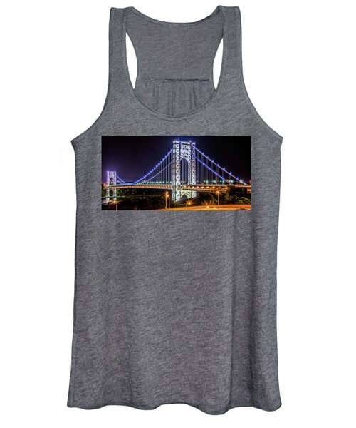 George Washington Bridge - Memorial Day 2013 Women's Tank Top