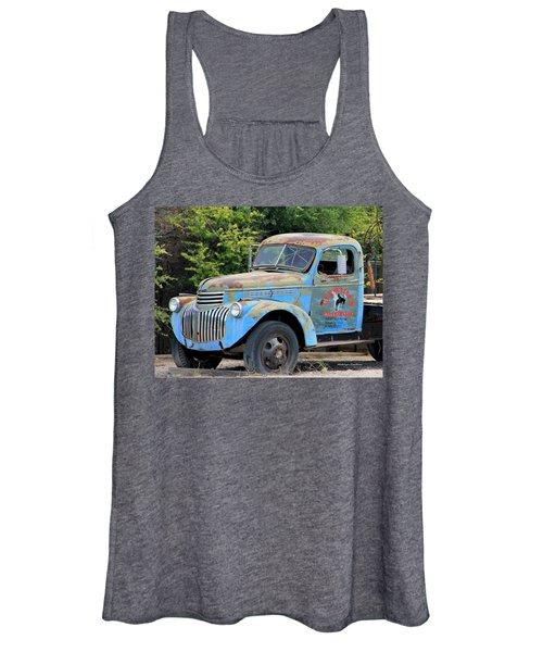 Geraine's Blue Truck Women's Tank Top