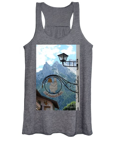 Germany - Cafe Sign Women's Tank Top