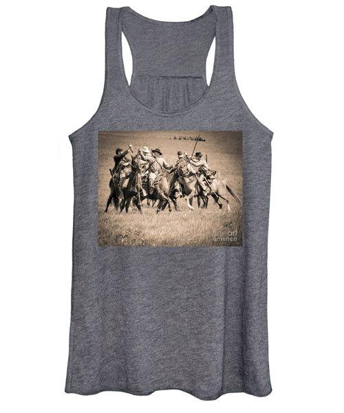 Gettysburg Cavalry Battle 7948s  Women's Tank Top