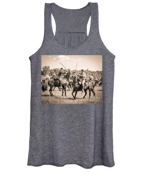 Gettysburg Cavalry Battle 7978s  Women's Tank Top
