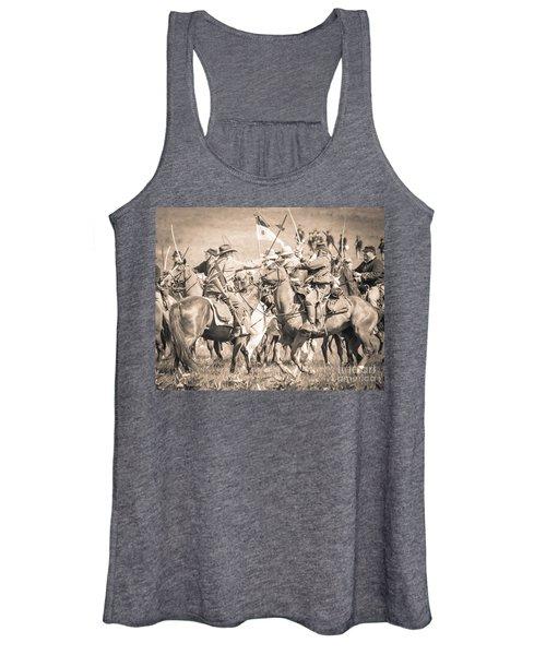 Gettysburg Cavalry Battle 8021s  Women's Tank Top