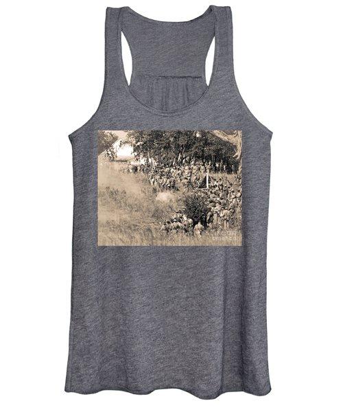 Gettysburg Confederate Infantry 8825s Women's Tank Top