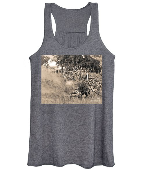 Gettysburg Confederate Infantry 8825s Women's Tank Top
