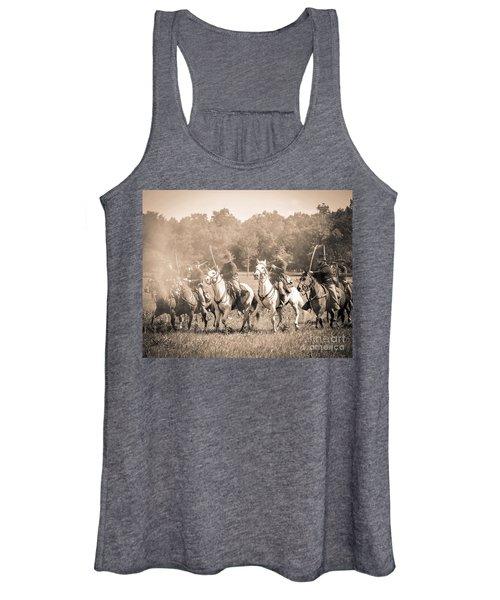 Gettysburg  Union Cavalry 7901s  Women's Tank Top