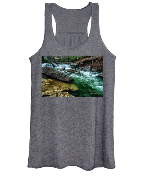 Glade Creek And Grist Mill Women's Tank Top