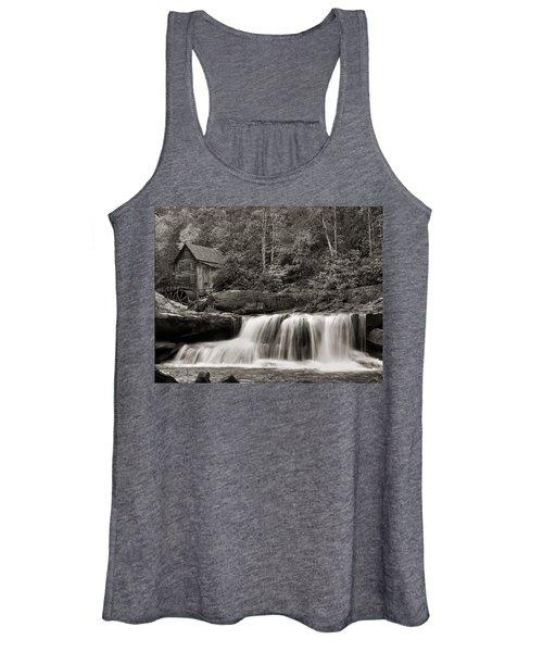 Glade Creek Grist Mill Monochrome Women's Tank Top