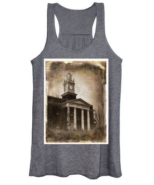 Glasgow Ky Courthouse Women's Tank Top