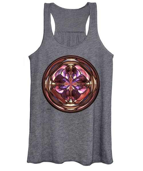 Glass Button 2 Women's Tank Top
