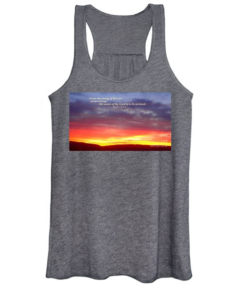 Glory And Praise  Women's Tank Top