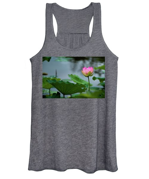 Glowing Lotus Lily Women's Tank Top