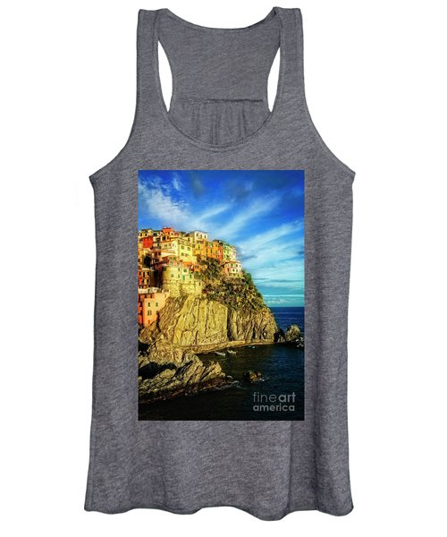 Glowing Manarola Women's Tank Top
