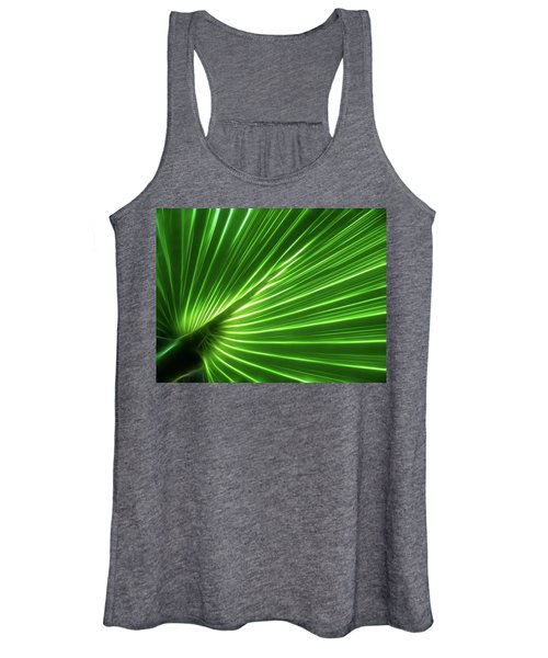 Glowing Palm Women's Tank Top